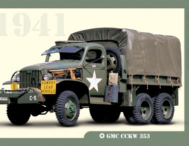 poster-vehicule-militaire-GMC-CCKW_353