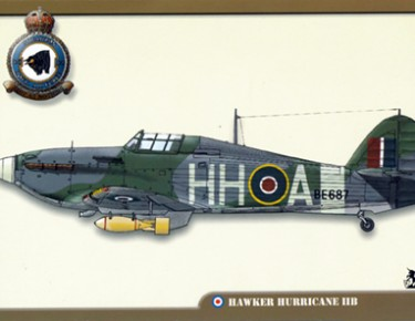 Hawker Hurricane IIB Hurribomber, Dieppe, 1942